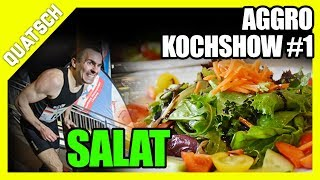 Aggro Kochshow #1 - Keto Salat Rezept vom Kapitan | Daniel Pugge