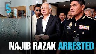 EVENING 5: Najib Razak arrested