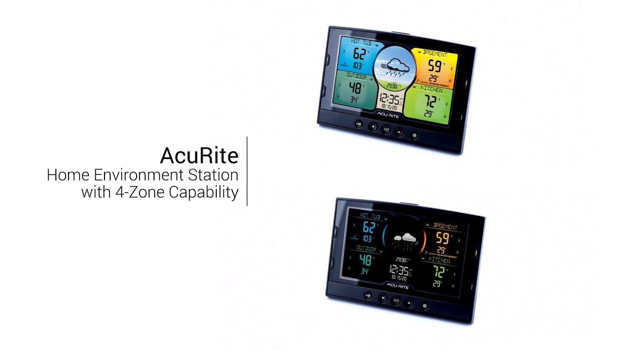 AcuRite Home Environment Station with 4-Zone Capability
