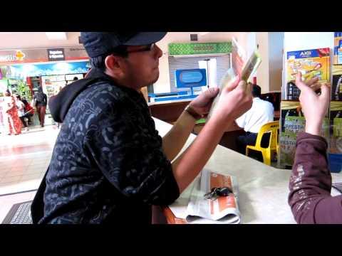 Riss jadi tourist guide Melaka