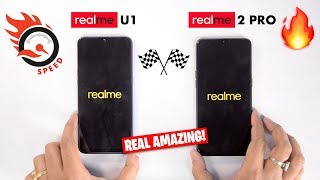 Realme U1 vs Realme 2 Pro Speedtest Comparison & RAM Management [REAL AMAZING] 🔥