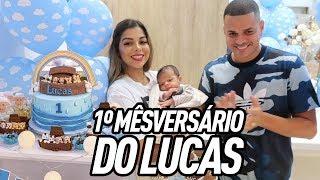 1º MESVERSÁRIO DO LUCAS