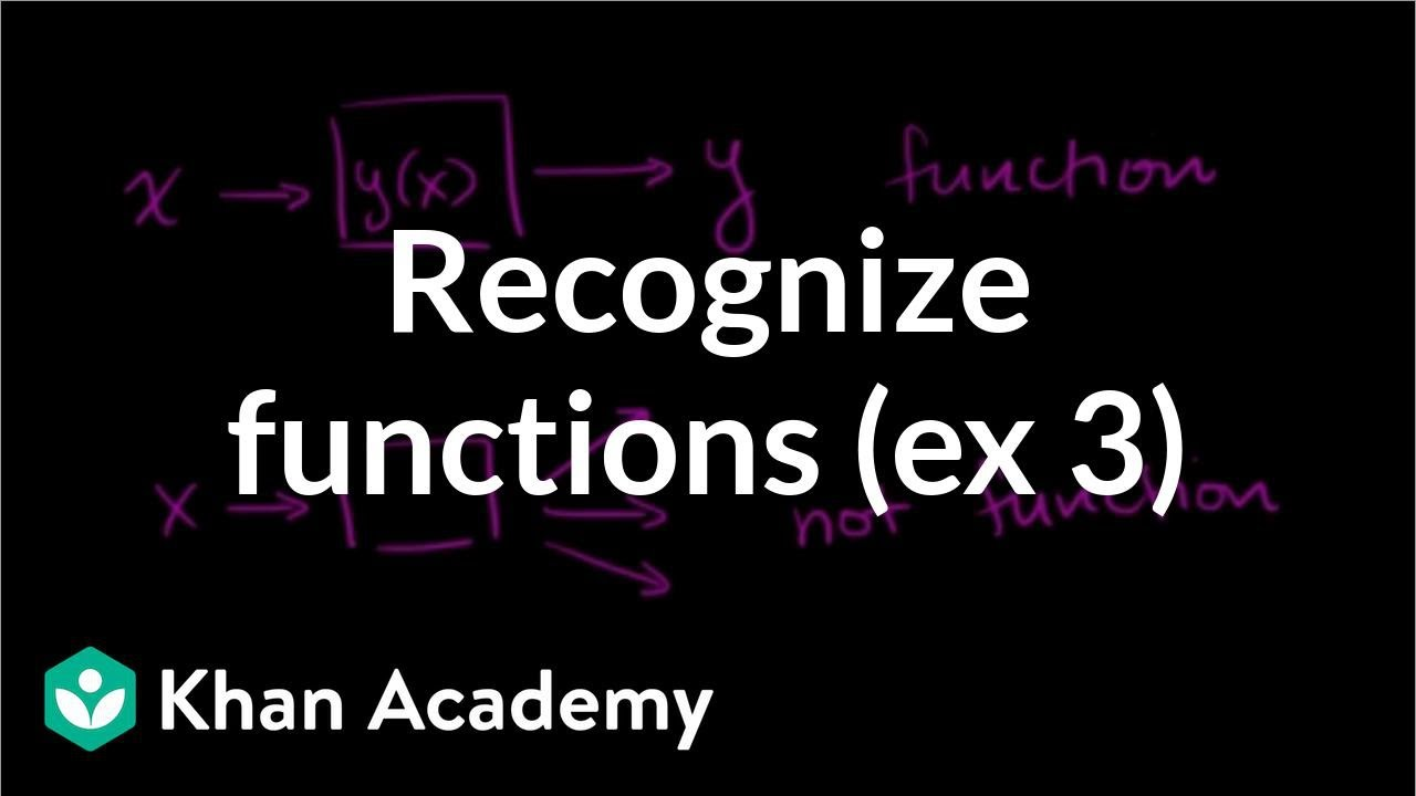 Checking if a table represents a function (video) | Khan Academy