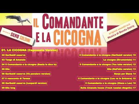 Il Comandante e la Cicogna (Original soundtrack) - track list