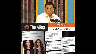 Duterte's SONA focuses on corruption, threat of war with China | Evening wRap