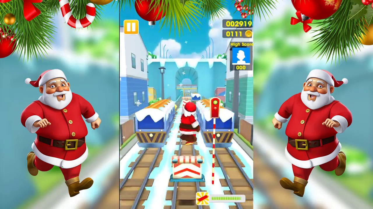 subway santa surf xmas run christmas 2017 - Subway Christmas Eve Hours