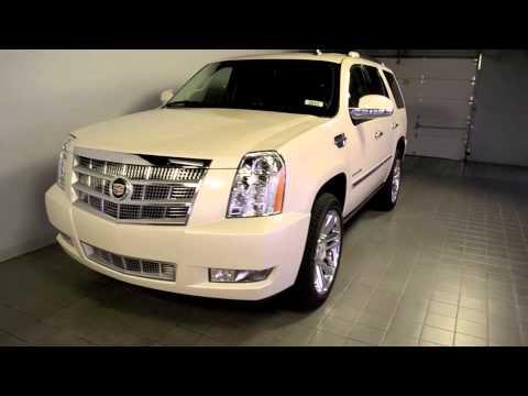 Cable Dahmer Chevrolet >> 2014 Cadillac Escalade Platinum White Diamond 2015 116999 ...