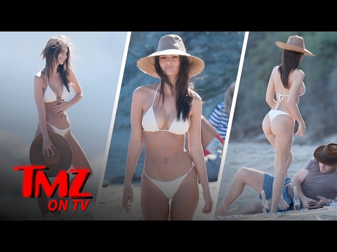 Emily Ratajkowski's Boyfriend Has The Best View | TMZ TV thumbnail