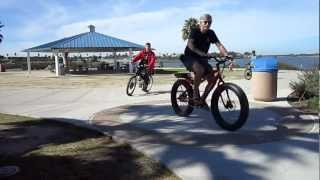Kilowatt Hour E-bike Ride---Mission Bay---During the Ride