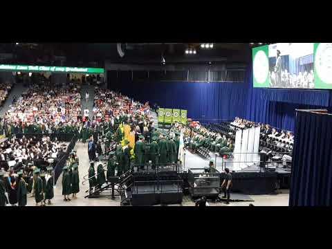 Lane Technical High School Commencement Ceremony. June 11th, 2019. Pavilion, Chicago Downtown.