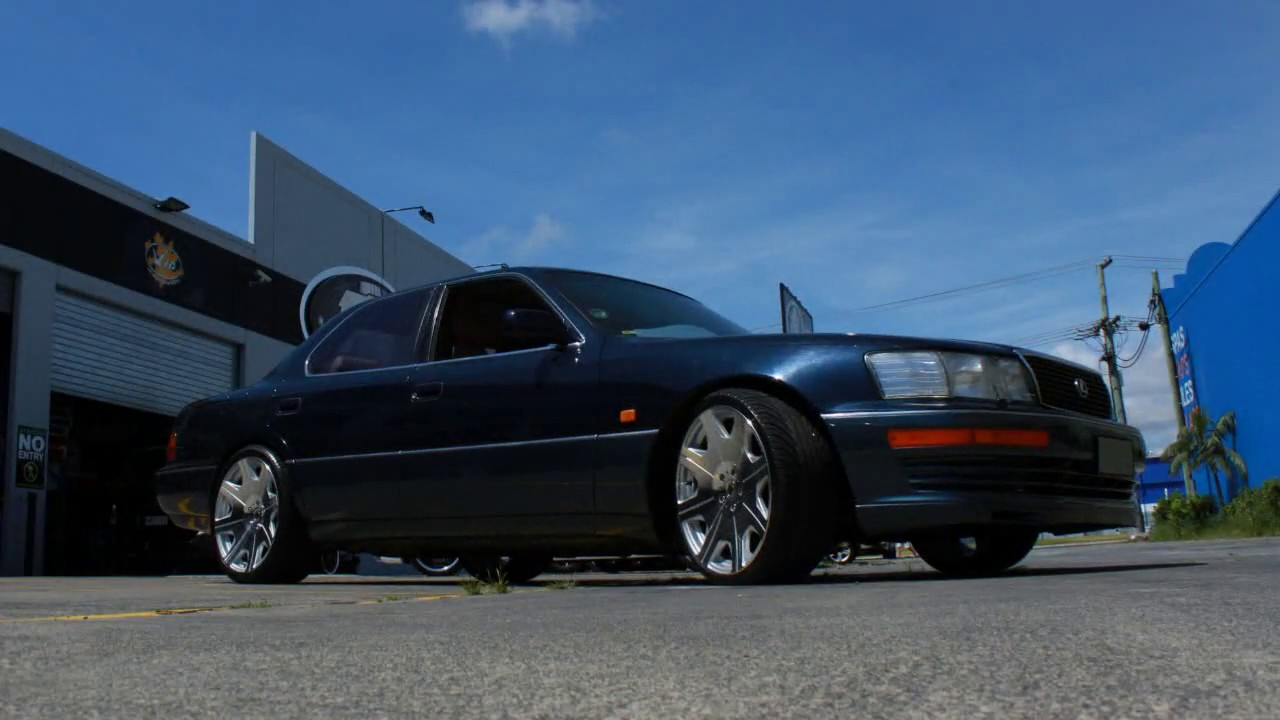 1996 Lexus Ls400 Lexus Ls400 Rolling 20quot Staggered Zumbo Kuverup Wheels Youtube