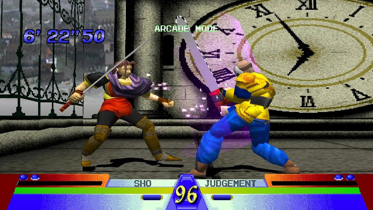 Battle Arena Toshinden 3 Ps1 Play As Sho Youtube