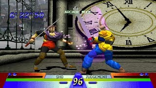Battle Arena Toshinden 3 [PS1] - play as Sho