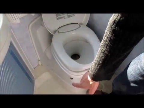 Toilette cassette camping car