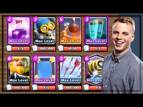 Clash Royale - THE WORST DECK I'VE EVER PLAYED.
