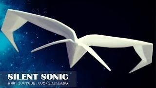 Best Paper Planes: How to make a paper airplane that Flies FAST & STRAIGHT | Silent Sonic