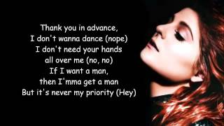 Video No - Meghan Trainor - Lyrics download MP3, 3GP, MP4, WEBM, AVI, FLV Oktober 2018