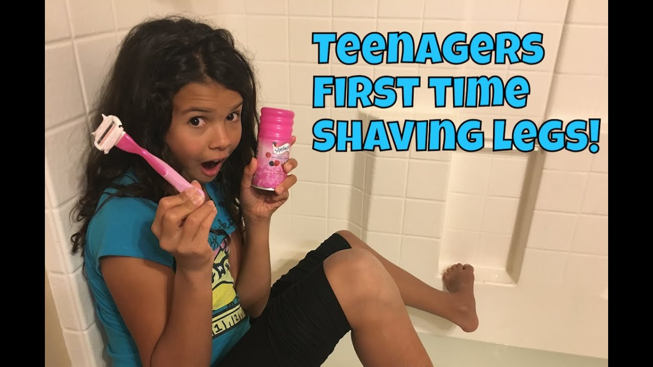 How To Shave Your Legs Teenager S First Time Shaving