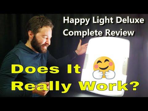 Happy Light Review Verilux Deluxe For Depression SAD
