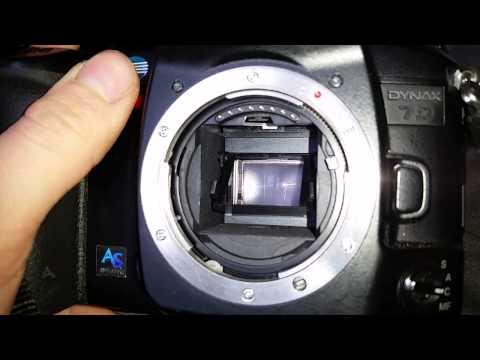Konica Minolta Dynax 7D Burst mode