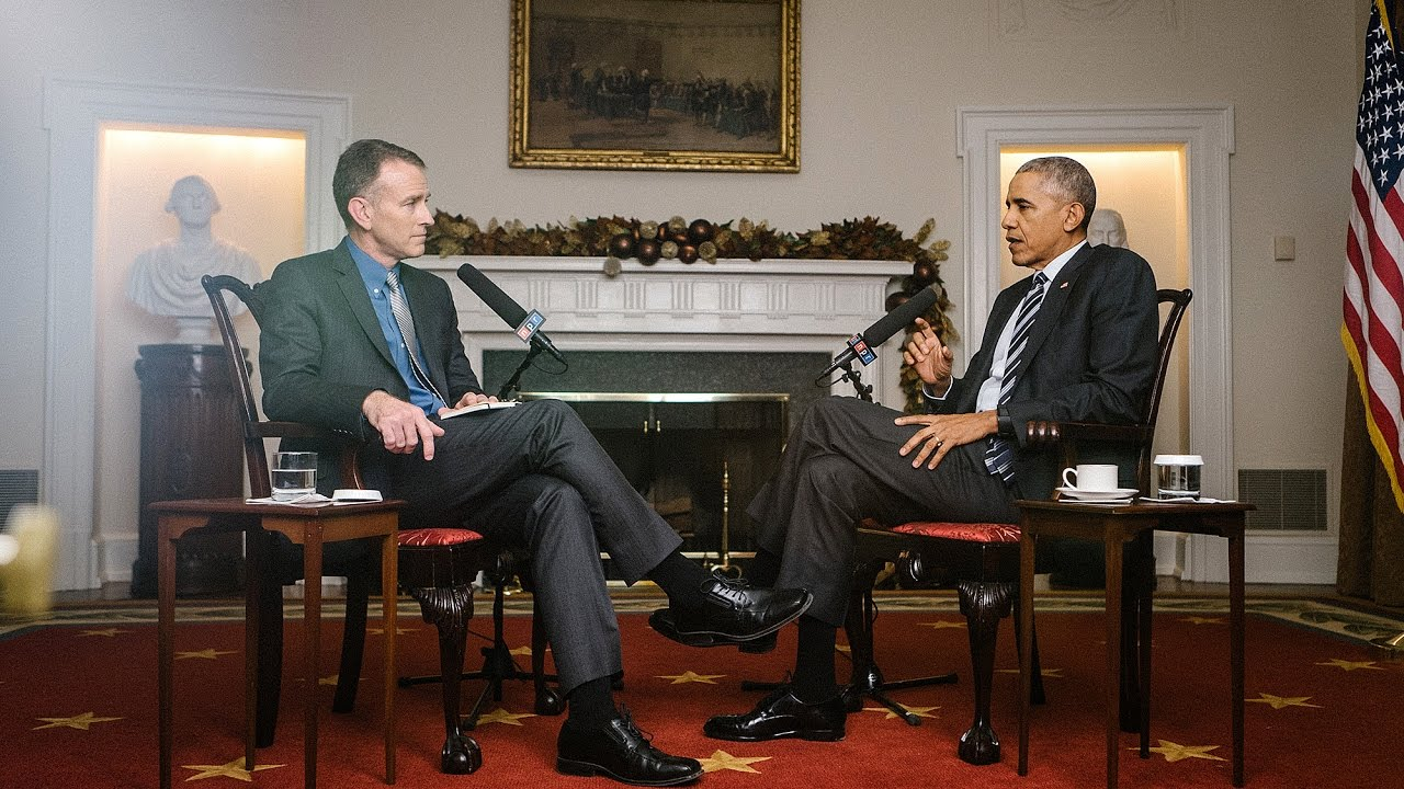 Npr S Exit Interview With President Obama Morning