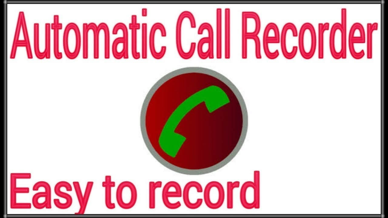 automatic call recorder pro android 1
