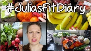 RAW VEGAN FOOD HAUL #JuliasFitDiary