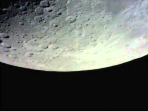 Moon movement across the sky - realtime
