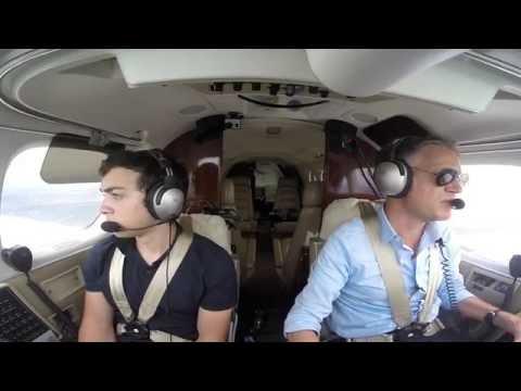 King Air 90 - Dodging Bad Weather - Horseshoe Bay, TX - KDZB