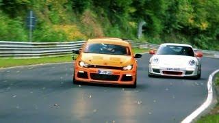 Volkswagen Scirocco R GT-R1 - Pure sound!