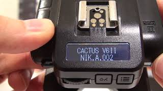 Cactus VLOG #007: How to check the Firmware Version installed?