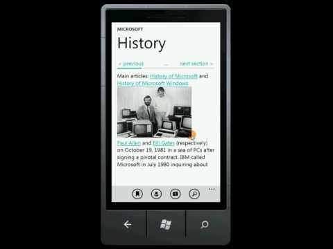 Wikipedia Reader for Windows Phone (Free)