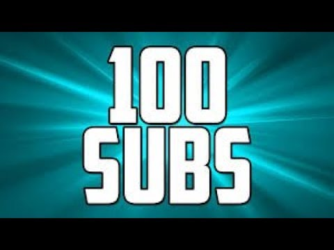 Thank you for 100 subs