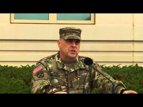 U.S. Army Forces Command Change Of Command - Aug. 10, 2015