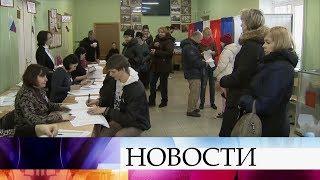 Голосование проходит при высокой активности избирателей.