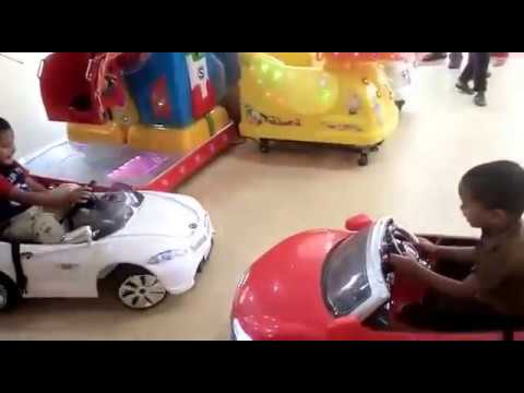 Cute Baby Boys Children's Driving Car Game in Shopping Mall | Very Funny Videos Vines | Kids Play