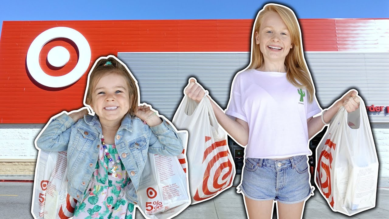 c13c7e68ea KiDS TARGET SHOPPiNG CHALLENGE!! 🤑🤑 - YouTube