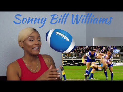 Clueless new American rugby Fan Reacts to Sonny Bill Williams Rugby Hits Highlights