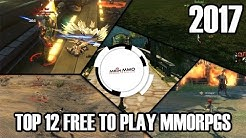Top 12 Free to Play MMORPGs 2017 - Mein-MMO.de Liste