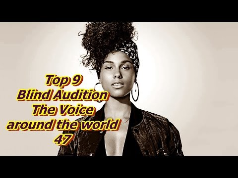 Top 9 Blind Audition (The Voice around the world 47)(REUPLOAD)