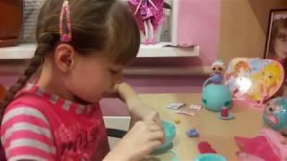 Видео для детей. Мои первые сюрпризы -шары ЛОЛ  из Китая (не оригинал)