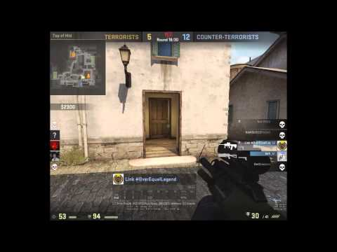 playing against hackers while trolling makes for some funny and ridiculous CS GO