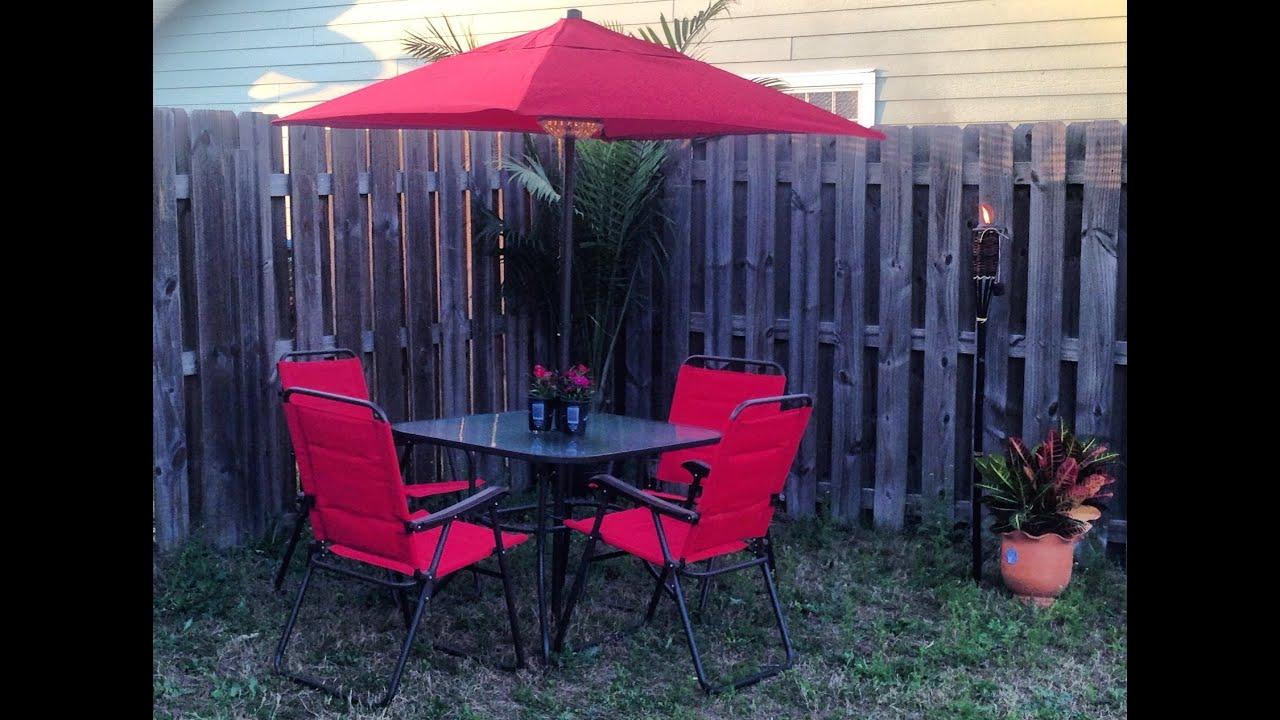 mainstays searcy lane patio set