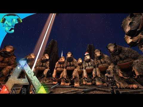 S5E4 Megatherium Army VS Alpha Broodmother - The Bug Slayers or The Queen?! ARK Survival Evolved PVP