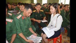 Hướng nghiệp xuất khẩu lao động cho quân nhân chuẩn bị xuất ngũ