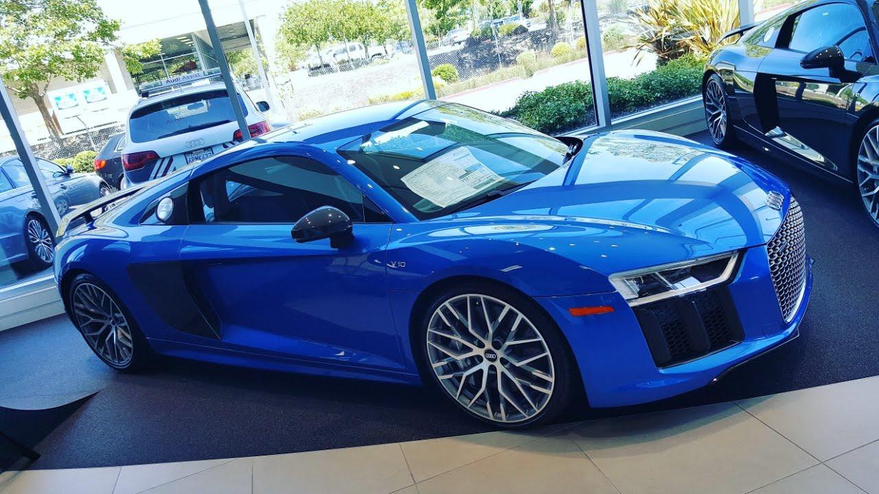 CARRO PERFEITO - Audi R8 V10 2017 - Quanto Custa nos Estados Unidos - YouTube