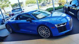 CARRO PERFEITO - Audi R8 V10 2017 - Quanto Custa nos Estados Unidos