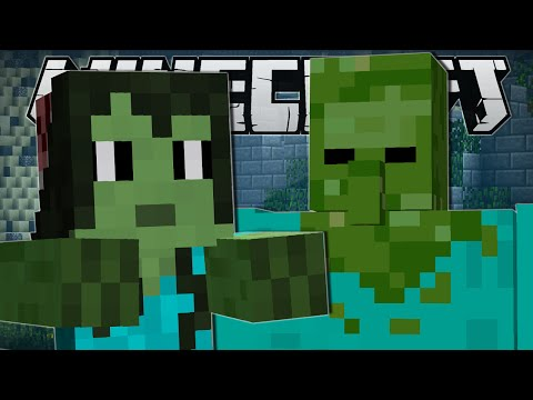 Thumbnail: Minecraft | ZOMBIE RUINS CHALLENGE!! | Custom Mod Minigame