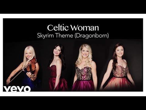 Celtic Woman  Skyrim Theme Dragonborn Audio