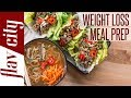 Weight Loss Meal Prepping - Low Carb Recipes Under 375 Calories